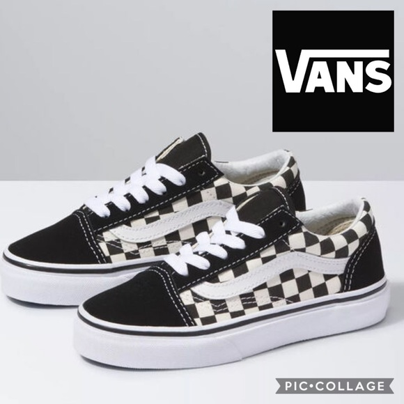 kids vans old skool black